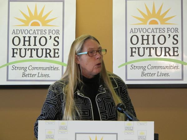 Lisa Hamler-Fugitt, executive director of the Ohio Association of Foodbanks