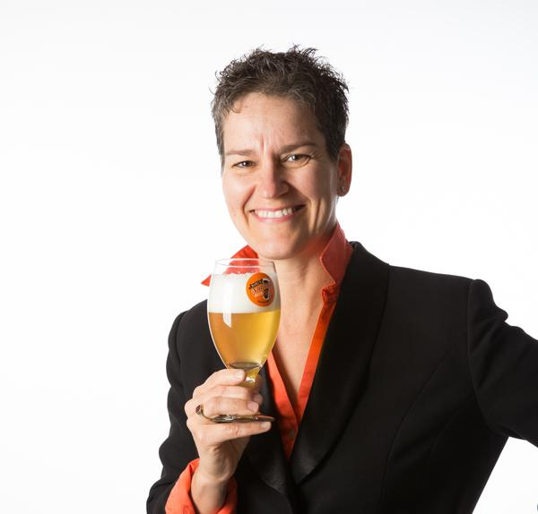 "Ginger Johnson, the founder of Women Enjoying Beer, and the author of the book ""How to Market Beer to Women: Don't Sell Me A Pink Hammer"""