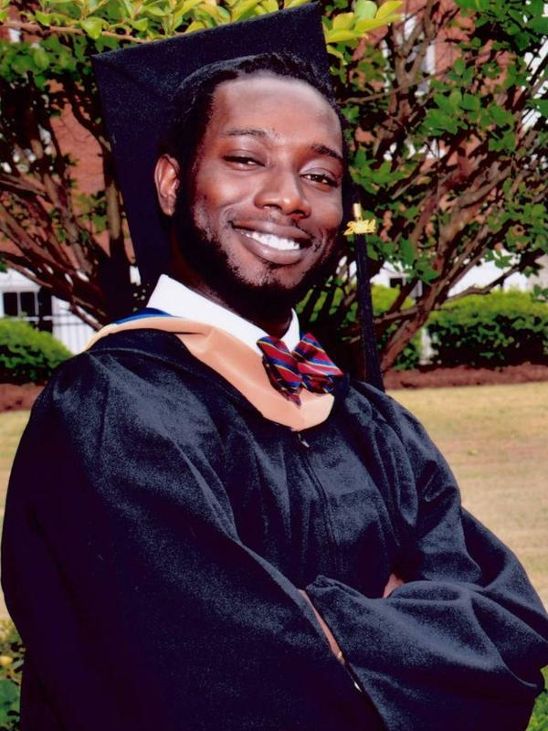 An undated photo shows Tywanza Sanders, who was among the nine people killed by Dylann Roof.