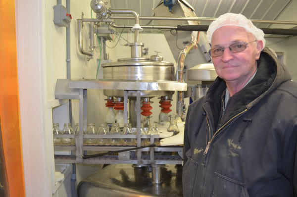 <p>Larry Stap, an owner of the Twin Brook Creamery in northwest Washington, has signed onto the agreement to help keep cow manure out of Whatcom County's streams.</p>