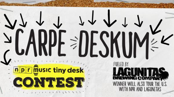 Enter by Jan. 29, and you could come play a Tiny Desk concert at NPR.