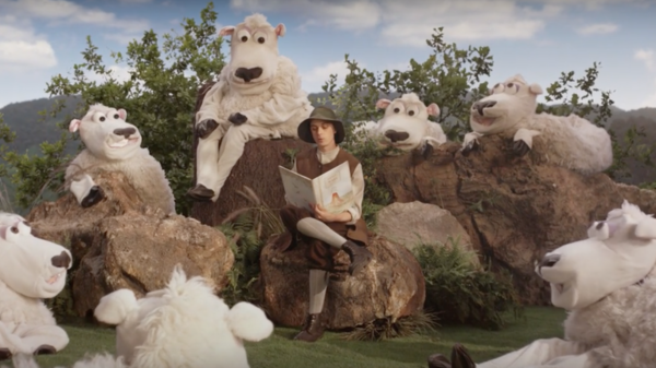 Watsky's cautionary tale, as told by sheep.