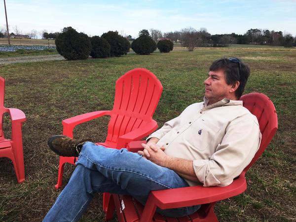 Yadkin Valley Farm in Yadkin County, N.C., has been in Chuck Wooten Jr.'s family for at least five generations.
