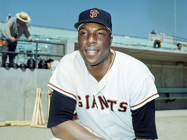 Willie McCovey of the San Francisco Giants pictured in April 1966 near the height of his 21 year career. He pleaded guilty to tax evasion in 1995 and was pardoned by President Obama.