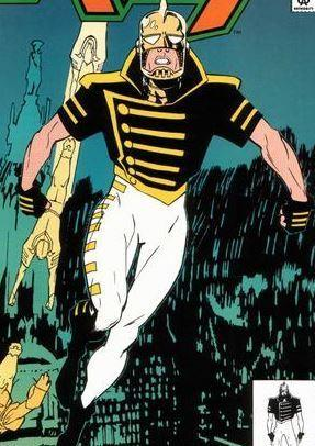 Detail from the cover of 1992's The Ray #1. Art by Joe Quesada.