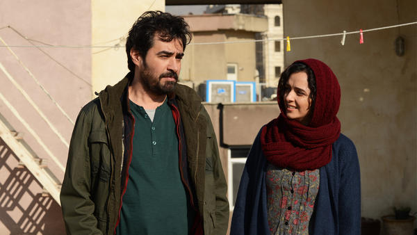 Shahab Hosseini and Taraneh Alidoosti in Asghar Farhadi's <em>The Salesman</em>.