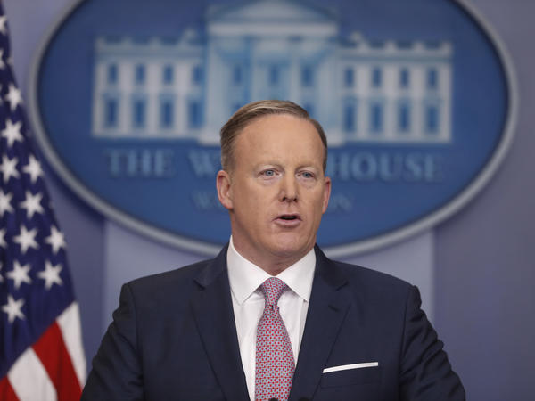 "White House press secretary Sean Spicer tells reporters ""our intention is never to lie to you."""