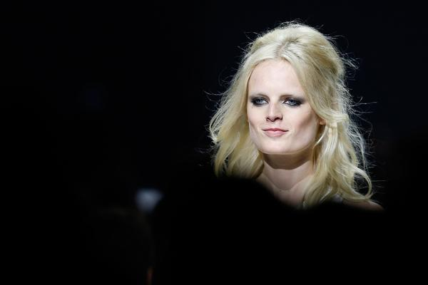 Belgian model Hanne Gaby Odiele onstage during the amfAR 22nd Annual Cinema Against AIDS at the 68th Cannes Film Festival in Cap d'Antibes, France, in May 2015.