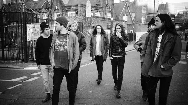 King Gizzard and the Lizard Wizard's new album, <em>Flying Microtonal Banana</em>, comes out Feb. 24.