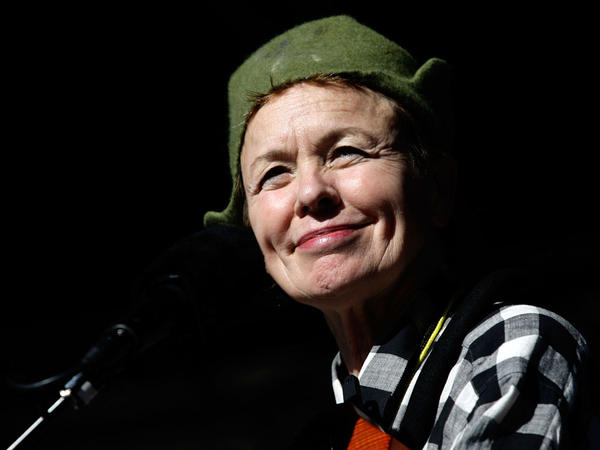 """Laurie Anderson finds a """"calm center"""" in <em>Etude 10</em> by Philip Glass."""