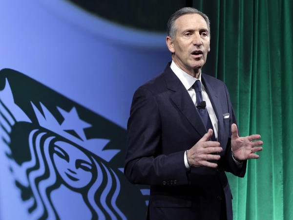 "Starbucks Chairman and CEO Howard Schultz says the company plans to hire 10,000 refugees over the next five years, in response to President Trump's executive order on immigration. Schultz says it ""effectively [bans] people from several predominantly Muslim countries from entering the United States, including refugees fleeing wars."""