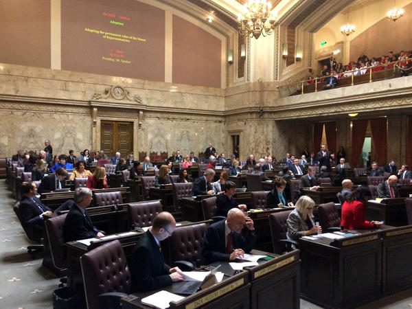 Rep. Matt Shea, a Republican from Spokane Valley, expressed his support for the proposed rule in the Washington House of Representatives to fund education first in the state budget Wednesday.