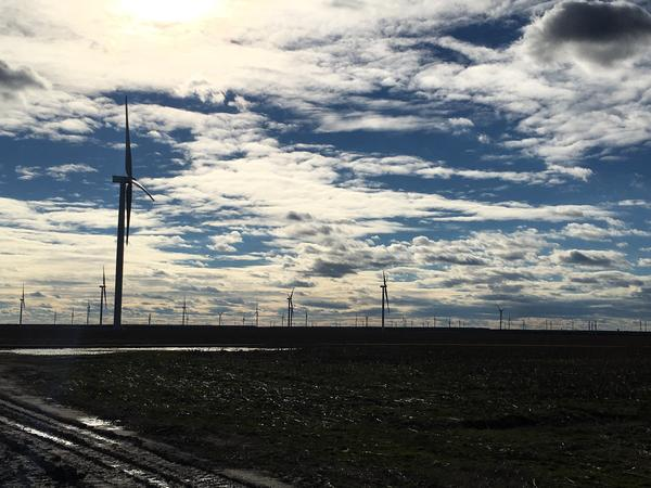 Some legislators are trying to shut down what will be North Carolina's largest wind farm, despite the fact that the Pentagon approved the project before construction.