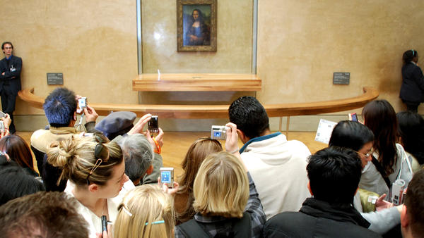 What makes the Mona Lisa — or any piece of art — successful?