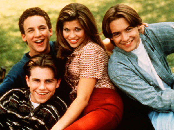 America watched Rider Strong, Ben Savage, Danielle Fishel and Will Friedle mature before their eyes on ABC's <em>Boy Meets World</em>.