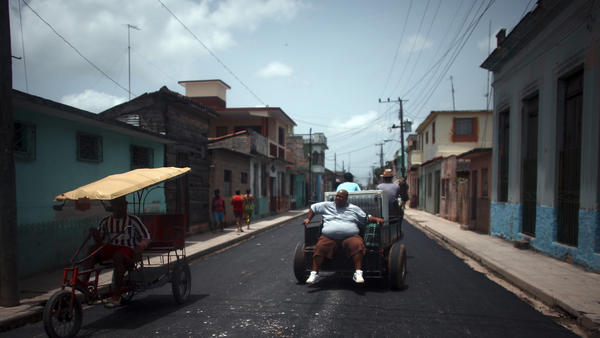 Traditional horse and carriage continue to be a common mode of transportation for the residents of Cardenas.