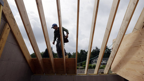 Homebuilding remains slumped at levels not seen since WWII.