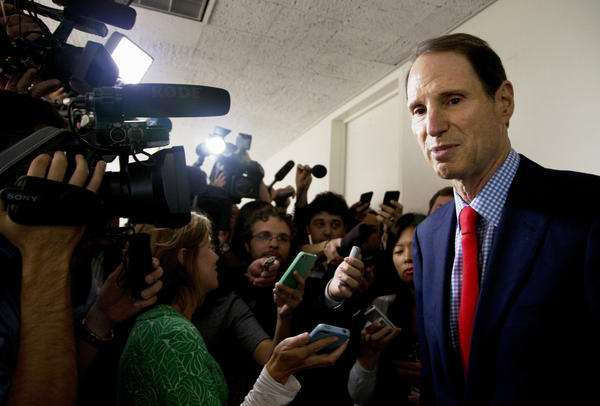 """You cannot have good oversight by the Congress if the Congress can't get straight answers from the intelligence leadership,"" says Senate Intelligence Committee member Ron Wyden, D-Ore. (shown here on Sept. 5, 2013). ""And the reality is again and again, over the last few years, that has not been possible."""