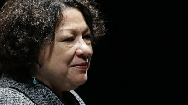 """Joan Biskupic, author of a new book about Justice Sonia Sotomayor, says she was """"intrigued by the fact that ... the arc of her life was actually the same trajectory of the rise of Latinos in America."""""""