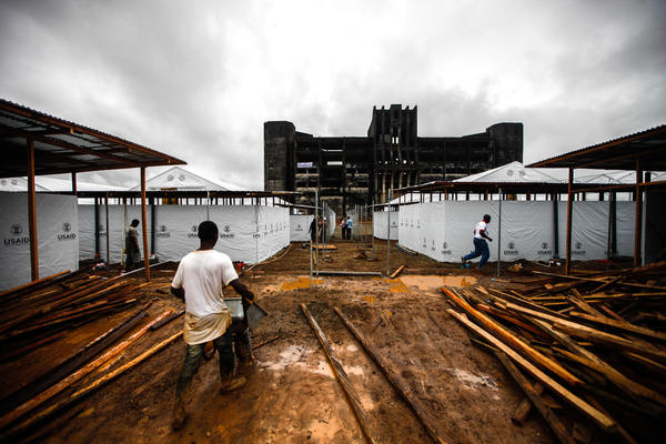 <p>It's rainy season in Liberia, and that can mean construction delays.</p><p></p>