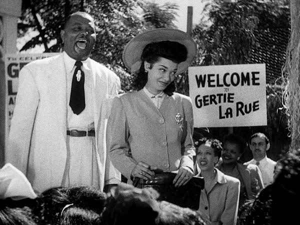 "Don Wilson and Francine Everette starred in Spencer Williams' <em>Dirty Gertie from Harlem, U.S.A.</em>, a 1946 ""race film"" set for re-release as part of the <em>Pioneers of African-American Cinema</em> collection."