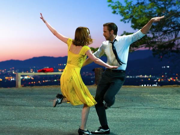 Emma Stone and Ryan Gosling in <em>La La Land</em>, which won the People's Choice Award at the Toronto International Film Festival.