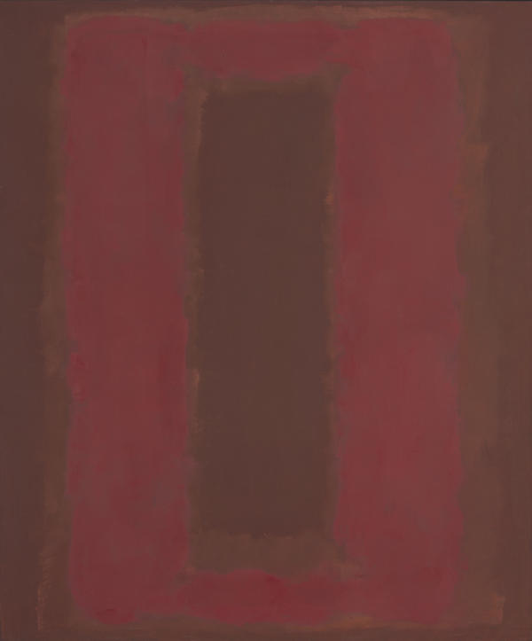 Mark Rothko originally made this untitled red painting for the Four Seasons restaurant in Manhattan.