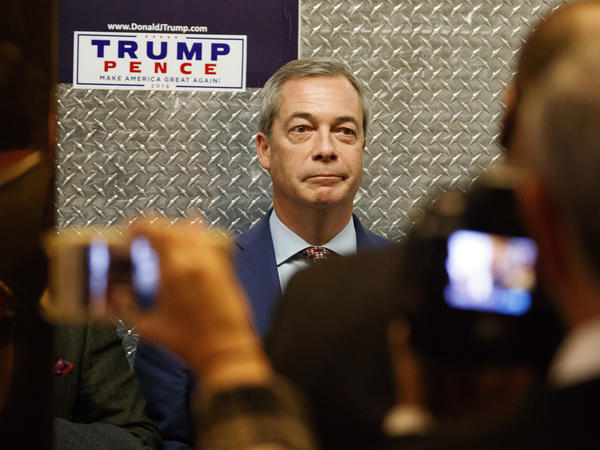 U.K. Independence Party co-founder Nigel Farage visited Donald Trump at Trump Tower days after the U.S. election. Trump suggested the British government appoint Farage to be the U.K.'s ambassador to Washington – advice Prime Minister Theresa May ignored.