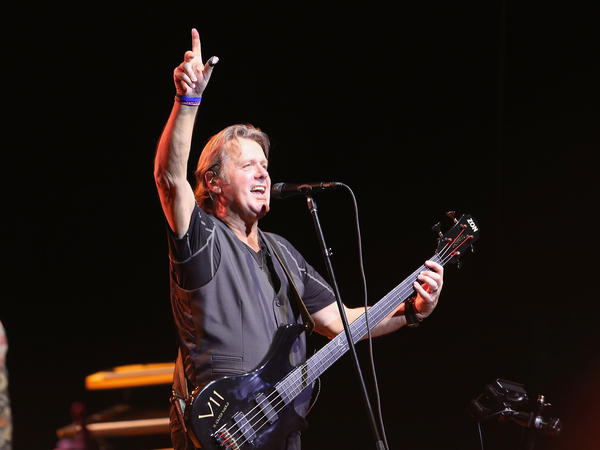 John Wetton performing with ASIA on September 25, 2014 in Morristown, New Jersey.