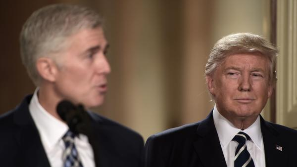 President Trump nominated federal appellate judge Neil Gorsuch as his Supreme Court nominee. If confirmed, it would tilt the balance of the court back in conservatives' favor.
