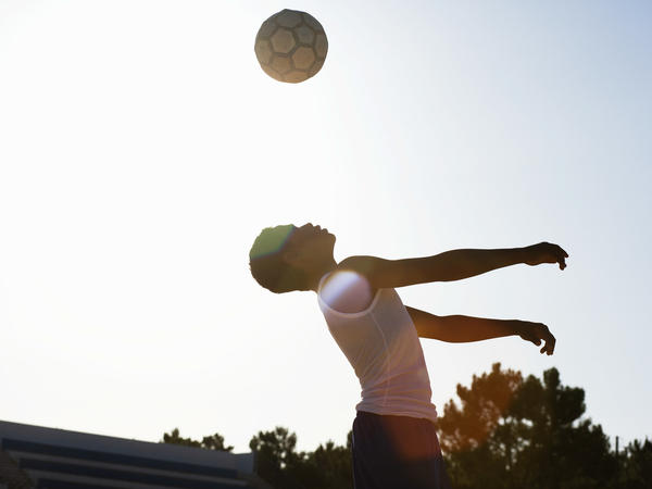 Players who headed a lot of balls — an average of 124 in two weeks — were three times more likely to get a concussion compared to soccer players who rarely headed.