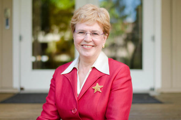 <p>Former NOAA Administrator and current OSU Professor Jane Lubchenco.</p>