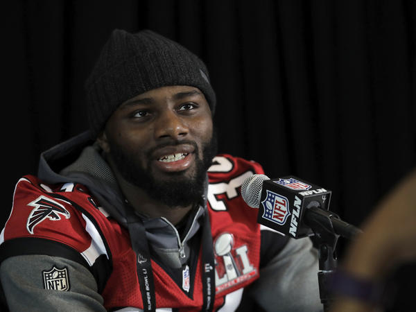 Brian Poole of the Atlanta Falcons talked to the media this past week, but wasn't too revealing about game plans.