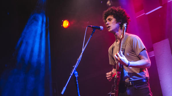 Ron Gallo performs at World Cafe Live in Philadelphia, Pa.