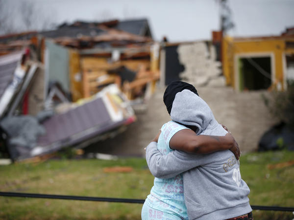 On Tuesday, a tornado tore through New Orleans East, causing destruction to a neighborhood hit hard by Hurricane Katrina in 2005.