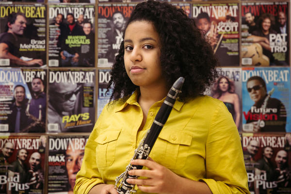 Spring Lake Park High School junior Kia Muleta has been playing the clarinet since fifth grade. Kia wants more diversity in her band music. She is often the only black student in band, where most of the music was composed by white men.