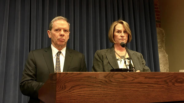 Senate President John Cullerton and Republican Leader Christine Radogno continue to negotiate a compromise meant to end Illinois' budget impasse. They first unveiled the plan in January.
