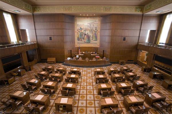 File photo of the Oregon Senate Chambers