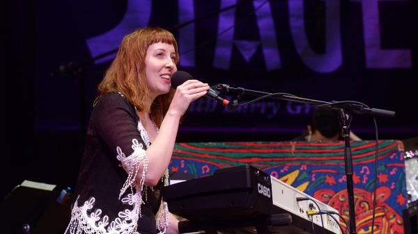 Brooke Waggoner performs on this week's episode of Mountain Stage.