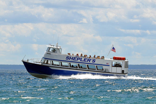 Mackinac City based Shepler's Ferry is one of the Michigan companies fighting to remove Enbridge Line 5.