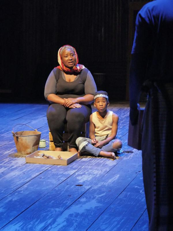 Pauline Malefane appears alongside Siphosethu Juta in <em>A Man of Good Hope.</em>