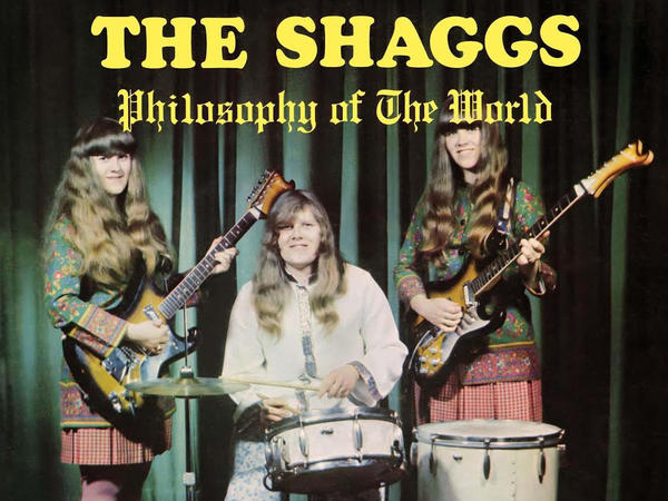 "The cover art from The Shaggs' inadvertently landmark 1969 album, ""Philosophy of the World."""