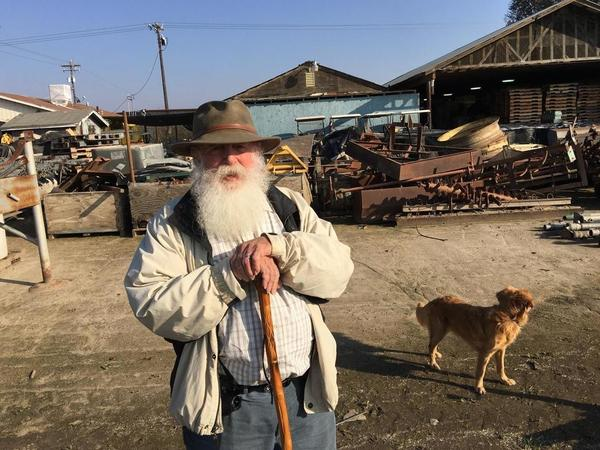 Tom Willey has farmed for decades in California's Central Valley. His farm, T&D Willey Farms, is in the process of being taken over by Food Commons Fresno. Willey plans to still help, advise and mentor.