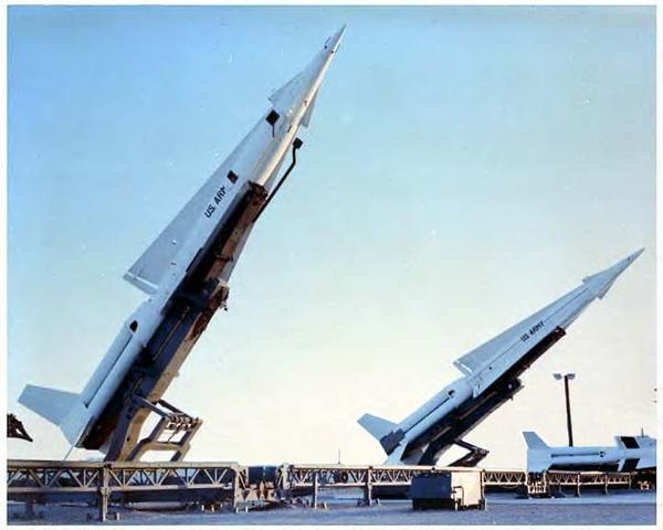 Nike Hercules anti-aircraft missiles like that were kept at Alpha Battery base in Everglades National Park.
