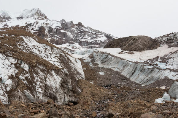<p>The Sandy Glacier has lost more than 50 percent of its mass over the past 100 years. Climate change is another trigger for the sudden collapse of the Mount Hood glacier caves.</p>