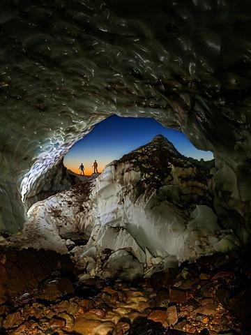 <p>Snow Dragon cave, July 2013.</p>