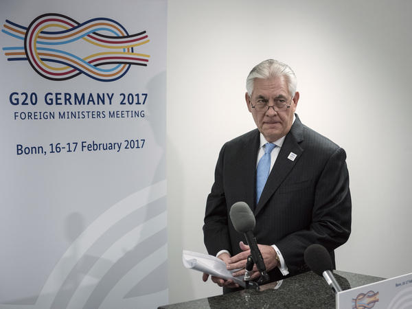 Secretary of State Rex Tillerson visited Germany last week and heads to Mexico this week, amid growing questions about how much influence he has in the White House.