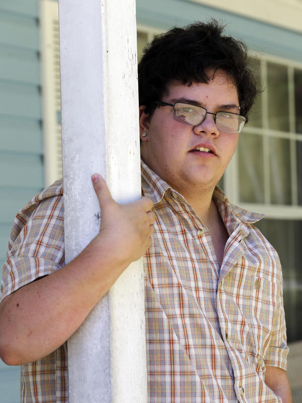 Gavin Grimm is the plaintiff in a case scheduled to be argued before the U.S. Supreme Court in March. Grimm sued the school board in Gloucester, Va., after it passed a rule barring transgender students from using school restrooms that match their gender identity.