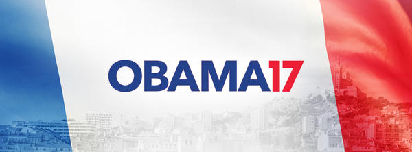 "The ""Obama 2017"" campaign is attempting to ""persuade"" the former U.S. president to run for office again — in France."