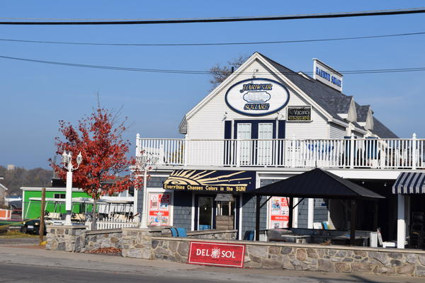 Businesses on Deleware Ave. in Put-In-Bay